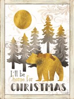 Merry Christmas and Happy New Year Fine-Art Print