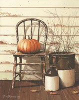 Pumpkin & Chair Fine-Art Print