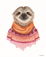 Sloth in a Sweater Fine-Art Print