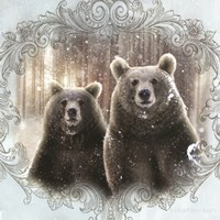 Enchanted Winter Bears Fine-Art Print