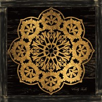 Gold Mandala I Fine-Art Print