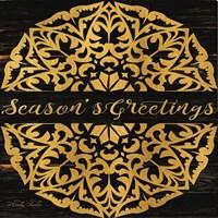 Season's Greetings Mandala II Fine-Art Print