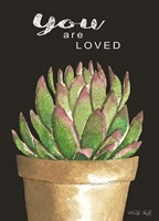 You Are Loved Cactus Fine-Art Print
