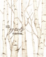 Is Your Name Fine-Art Print