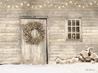 Old Farm Christmas Fine-Art Print