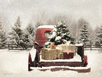 Snowy Presents Fine-Art Print