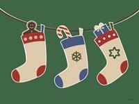 Christmas Socks Fine-Art Print