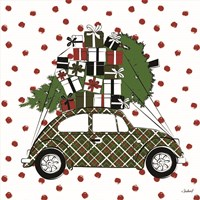 Christmas Car Fine-Art Print