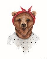 Bear in Bandana Fine-Art Print