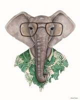 Elephant in Eye Glasses Fine-Art Print
