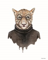 Jaguar as Steve Jobs Fine-Art Print