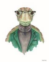 Turtle in a Turtleneck Fine-Art Print