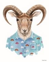 Uriel in a Unicorn Shirt Fine-Art Print