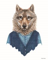 Wolf in Waistcoat Fine-Art Print