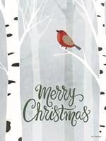 Merry Christmas Forest Fine-Art Print