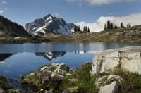 Whatcom Peak Reflected In Tapto Lake, North Cascades National Park Fine-Art Print