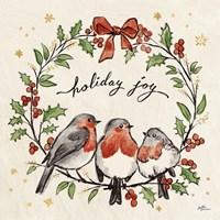 Christmas Lovebirds IV Fine-Art Print