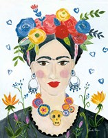 Homage to Frida II Bright Fine-Art Print