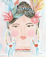 Boho Lady II Fine-Art Print