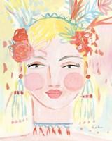 Boho Lady I Fine-Art Print