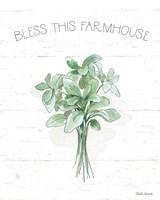 Farmhouse Cotton VI Sage Fine-Art Print