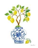 Lemon Chinoiserie II Fine-Art Print