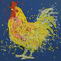 Dante The Rooster Fine-Art Print