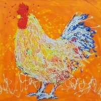 Elmer The Rooster Fine-Art Print