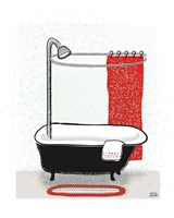 Bold Bath I Fine-Art Print