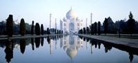 India, Agra, Taj Mahal Fine-Art Print