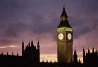 Big Ben Palace Of Westminster London Fine-Art Print