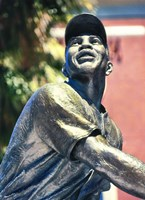 Willie Mays Statue In AT&T Park, San Francisco, California Fine-Art Print