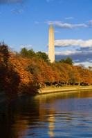 Reflection Of Monument On The Water, The Washington Monument, Washington DC Fine-Art Print