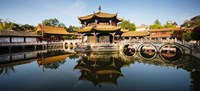 Yuantong Buddhist Temple, Kunming, China Fine-Art Print