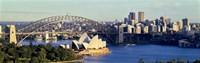 Scenic View Of Sydney Opera House, Sydney, Australia Fine-Art Print