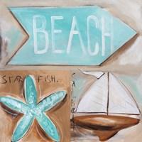 Where's the Beach? Fine-Art Print