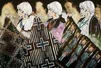 Tres Tejedoras Fine-Art Print