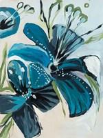 Flowers of Azure I Fine-Art Print