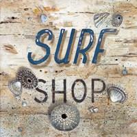 Surf Shop Fine-Art Print