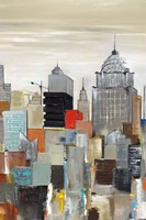 New York Skyline II Fine-Art Print