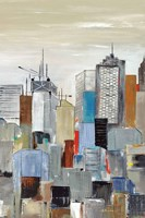 New York Skyline III Fine-Art Print