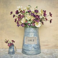 Plum Daisies Fine-Art Print