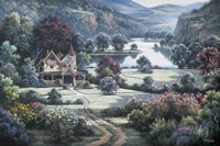Country Manor Fine-Art Print