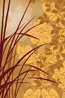 Golden Flourish I Fine-Art Print