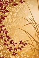 Golden Flourish II Fine-Art Print