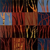 Red Trees I Fine-Art Print