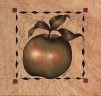 Stenciled Apple I Fine-Art Print