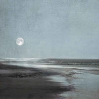 Moonlit Beach Fine-Art Print
