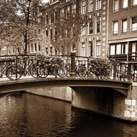Autumn in Amsterdam III Fine-Art Print
