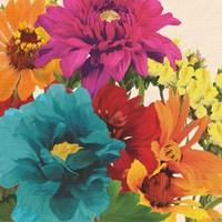Pop Art Flowers II Fine-Art Print